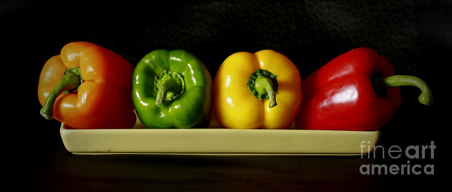 Pepper Delight Photograph  - Pepper Delight Fine Art Print