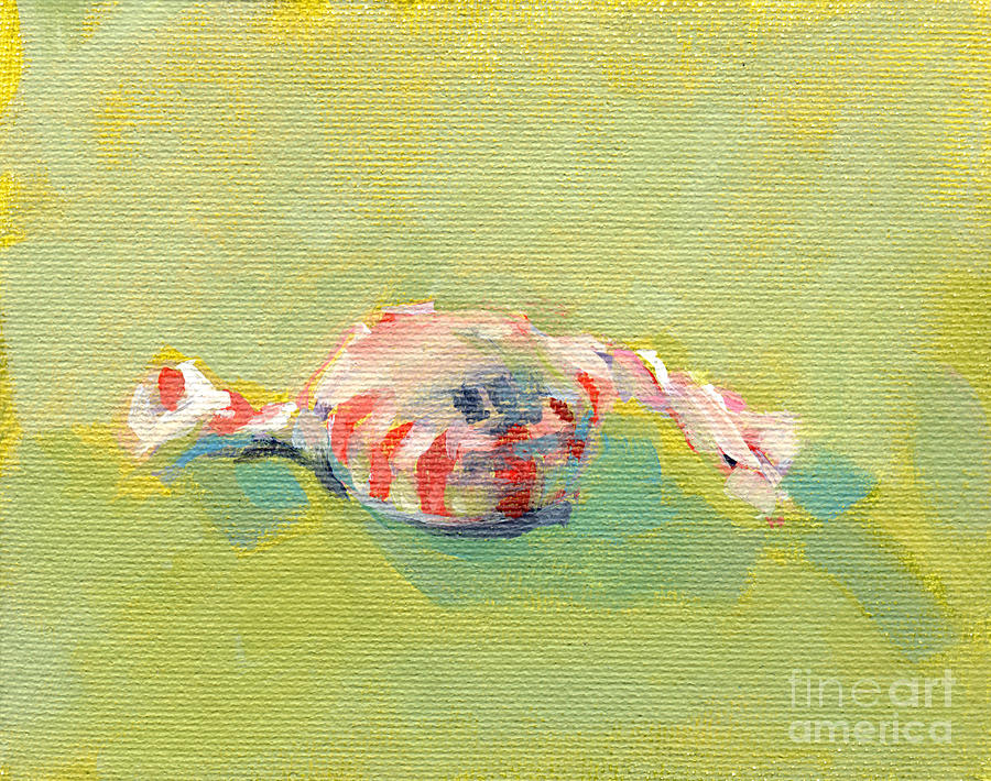 Peppermint Twist Painting  - Peppermint Twist Fine Art Print