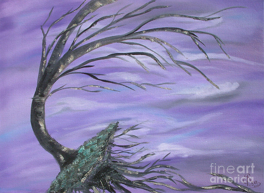 Perfect Storm Painting  - Perfect Storm Fine Art Print