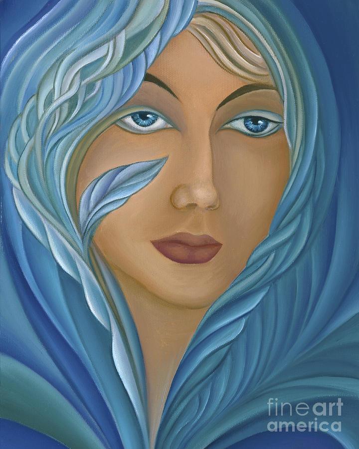 Persephone Painting