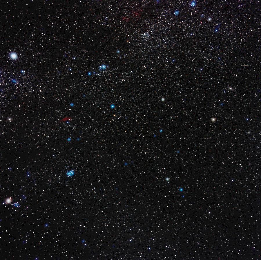 Perseus Photograph - Perseus Constellation by Eckhard Slawik