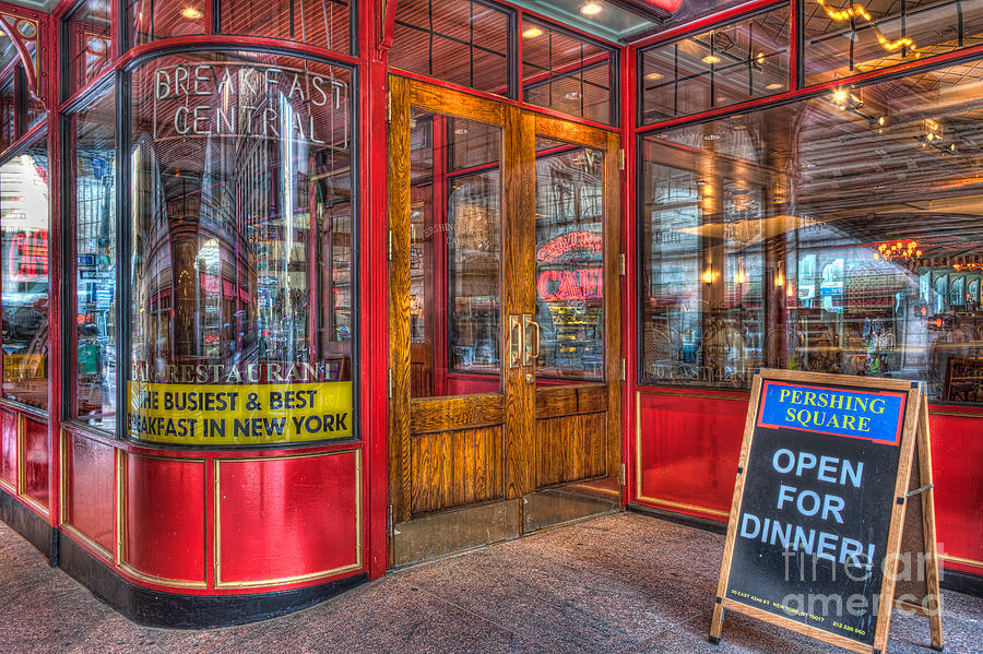 Pershing Square Central Cafe IIi Photograph  - Pershing Square Central Cafe IIi Fine Art Print