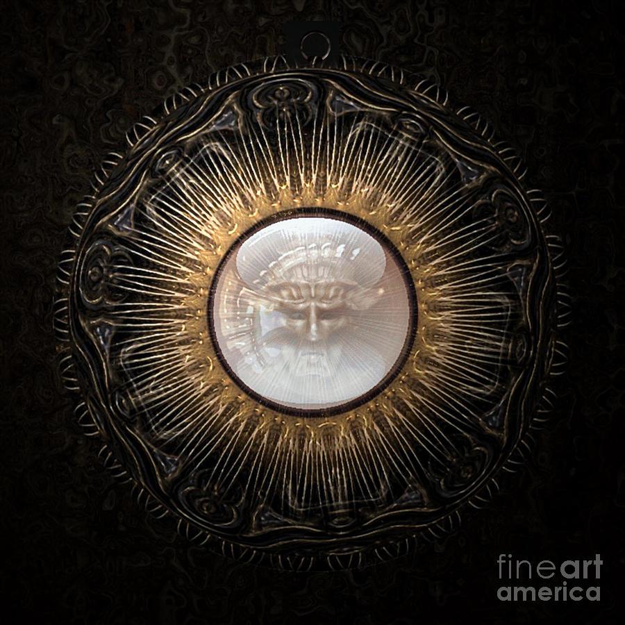 Ancient Digital Art - Personal Amulet by Jan Willem Van Swigchem