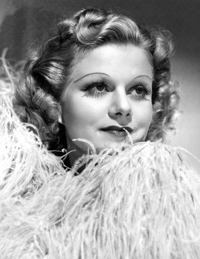 Personal Property, Jean Harlow, 1937 Photograph