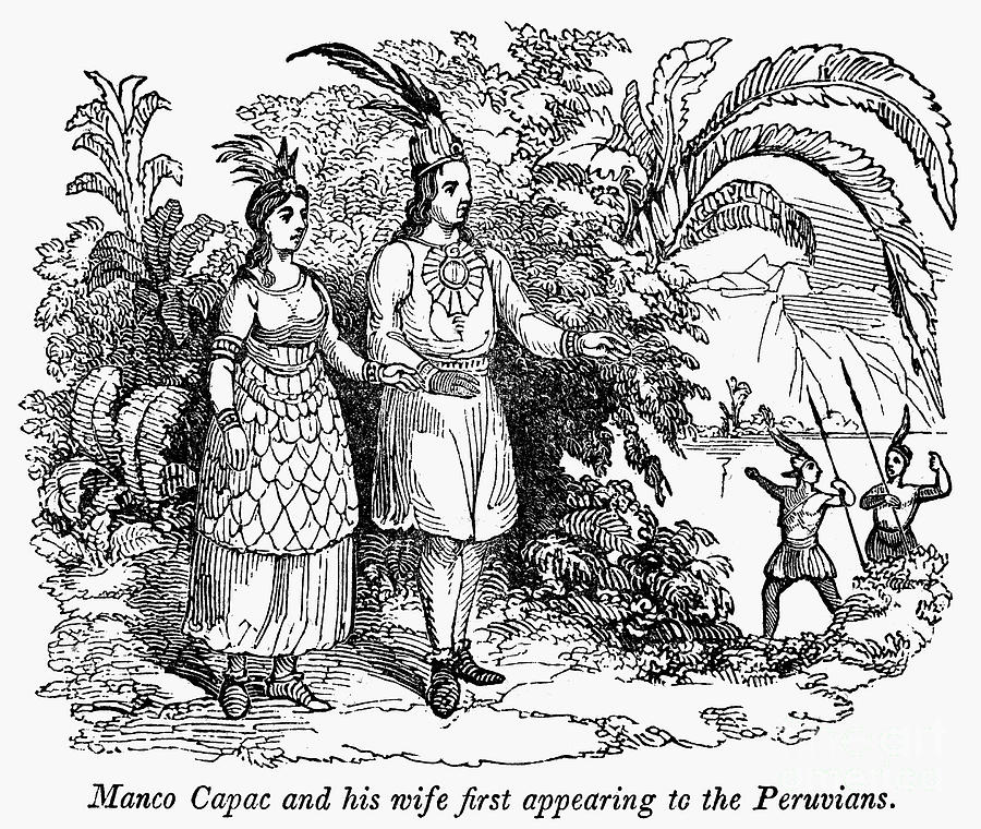 Inca Free Coloring Pages