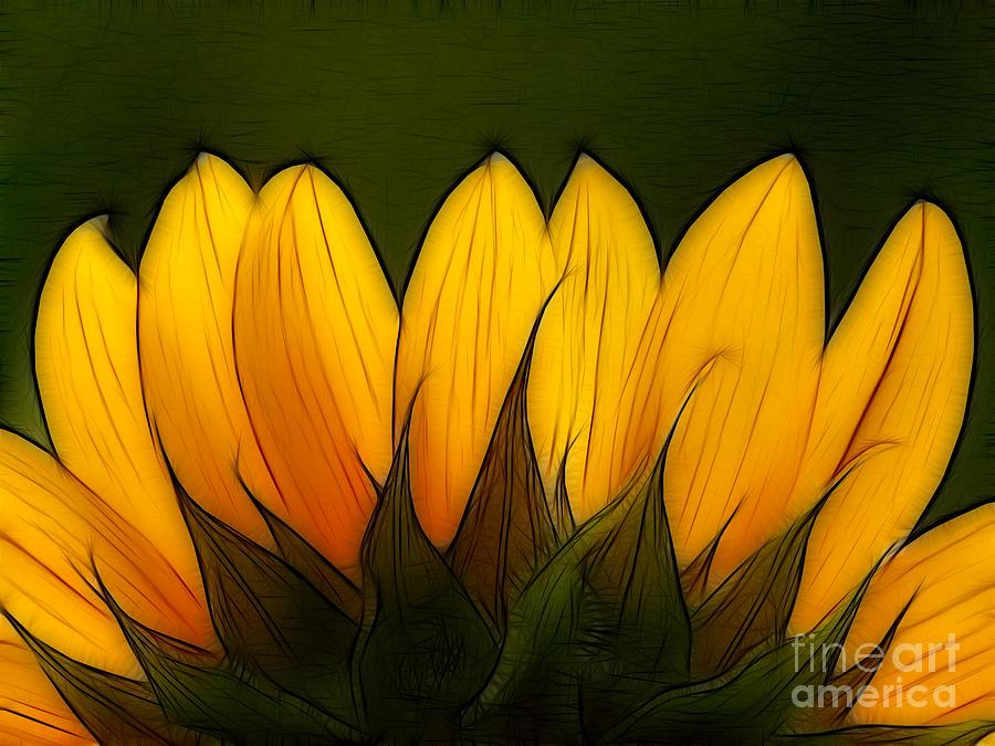 Petales De Soleil - A12 Digital Art
