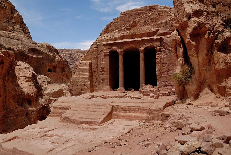 Petras Garden Temple Photograph
