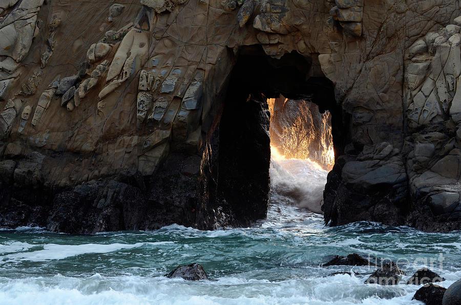 Pfeiffer Rock Big Sur Photograph