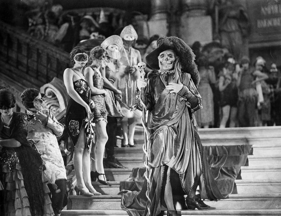Phantom Of The Opera, 1925 Photograph  - Phantom Of The Opera, 1925 Fine Art Print
