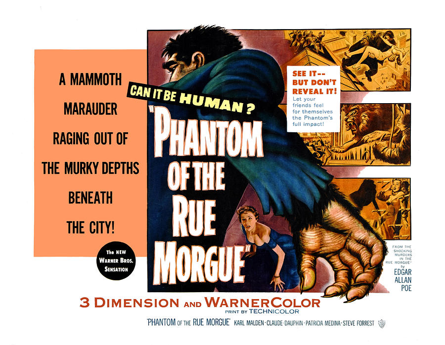 Phantom Of The Rue, Patricia Medina Photograph