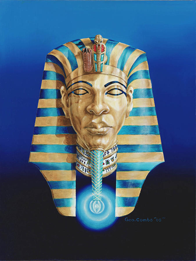 Pharaoh Painting  - Pharaoh Fine Art Print