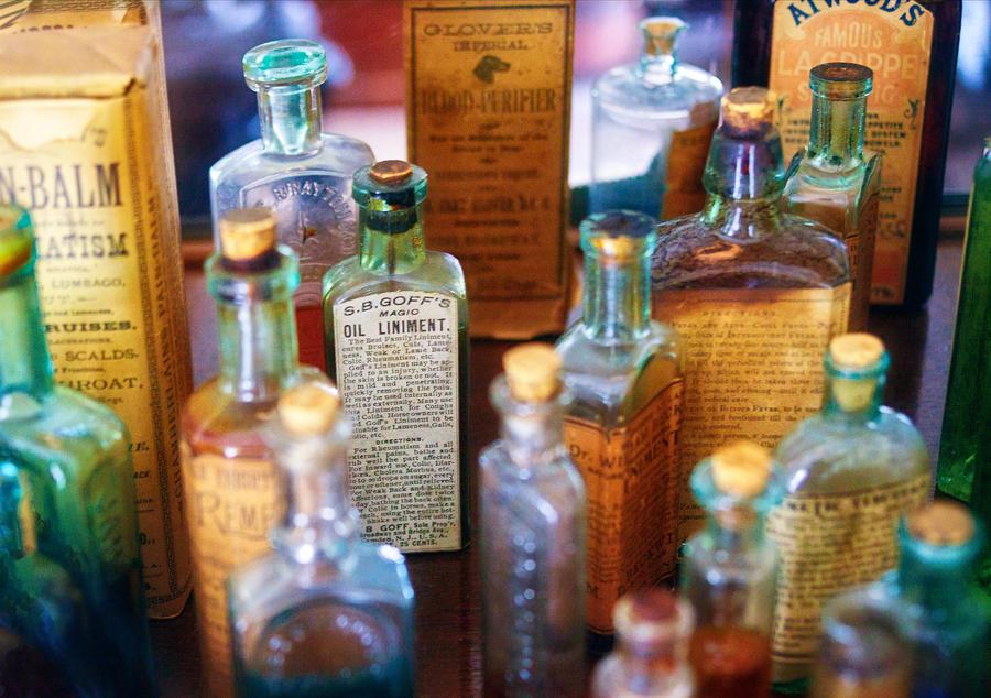 Pharmacist - Liniment And Balms Photograph