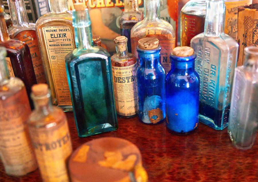 Pharmacist - Medicine Cabinet  Photograph
