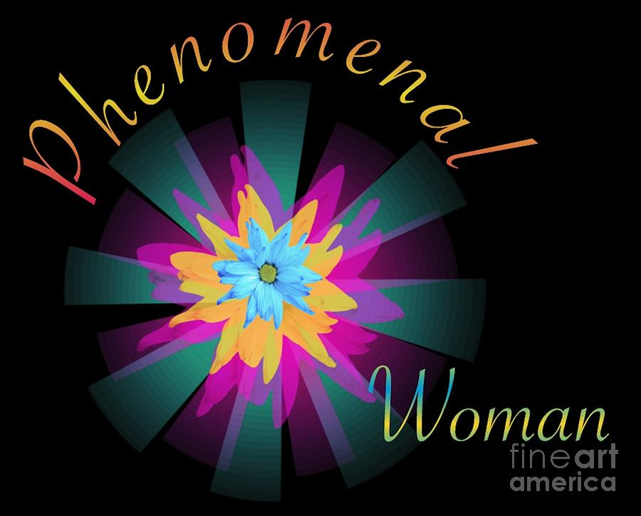 Phenomenal Woman Digital Art by Schnina Walker