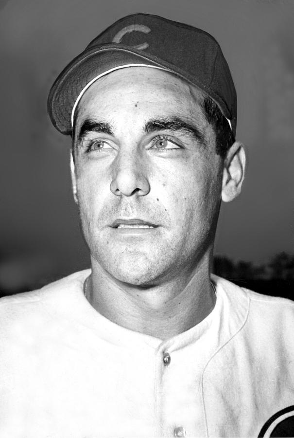 Phil Cavarretta, Lefty First Baseman Photograph  - Phil Cavarretta, Lefty First Baseman Fine Art Print
