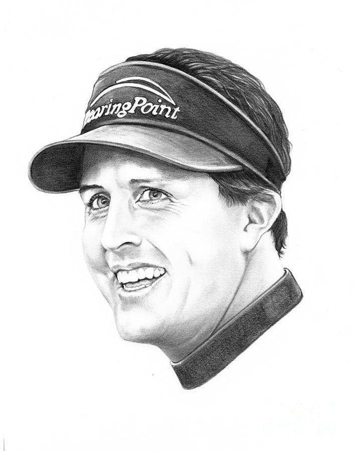 Phil Mickelson Drawing