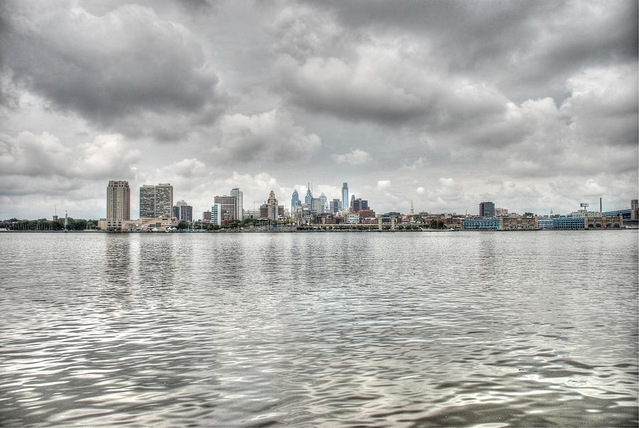 Philadelphia Across The Water Photograph