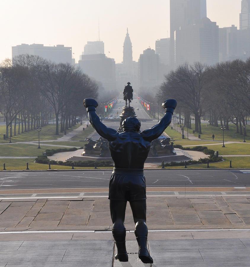 Philadelphia Champion - Rocky Photograph