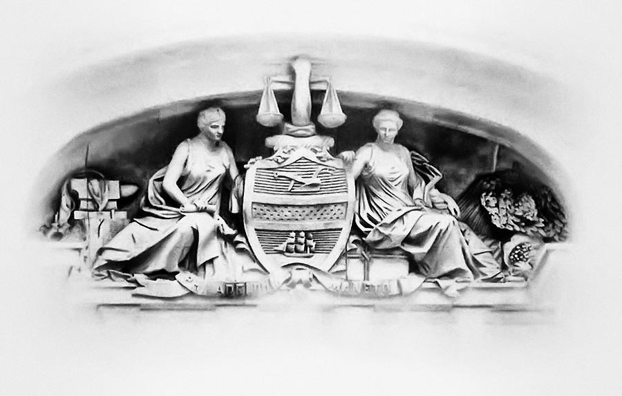 Philadelphia City Hall Fresco Photograph