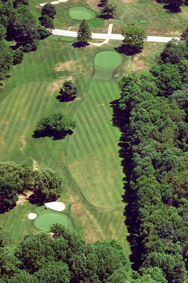 Philadelphia Cricket Club St Martins Golf Course 6th Hole 415 West Willow Grove Ave Phila Pa 191118 Photograph