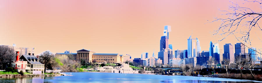Philadelphia Panoramic Photograph  - Philadelphia Panoramic Fine Art Print