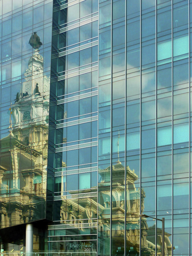 Philadelphia Reflections Photograph