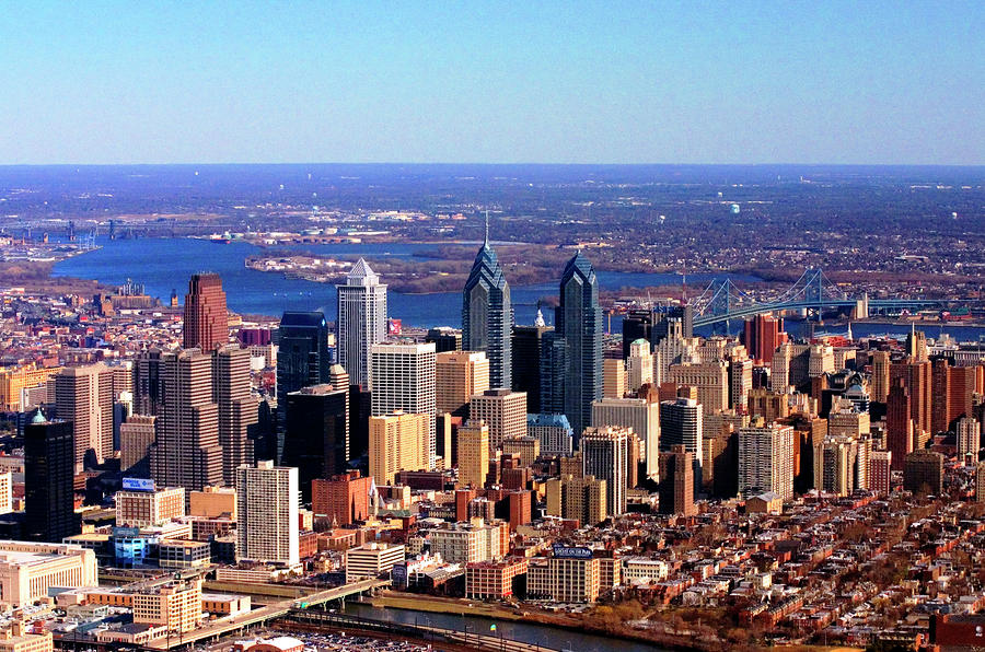 Philadelphia Skyline 2005 Photograph