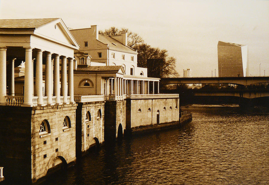Philadelphia Water Works And Cira Center Photograph