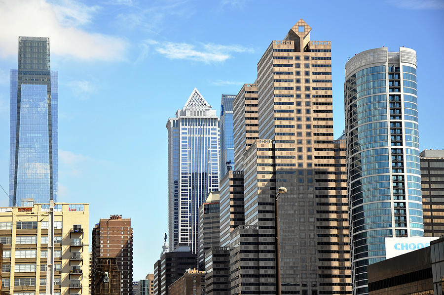 Philadlephia Skyline Photograph  - Philadlephia Skyline Fine Art Print