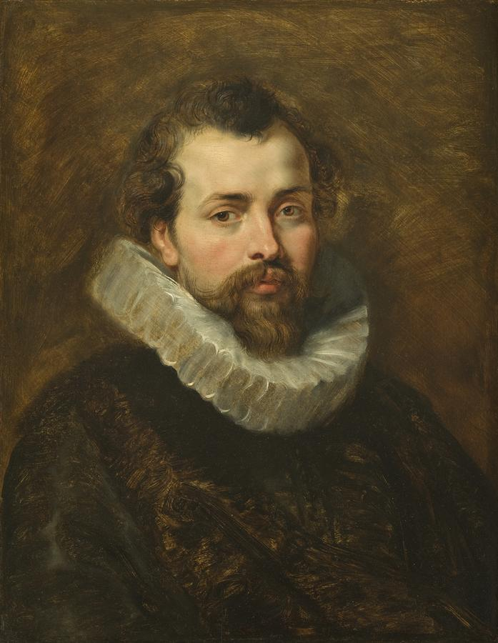 Philippe Rubens - The Artists Brother Painting  - Philippe Rubens - The Artists Brother Fine Art Print