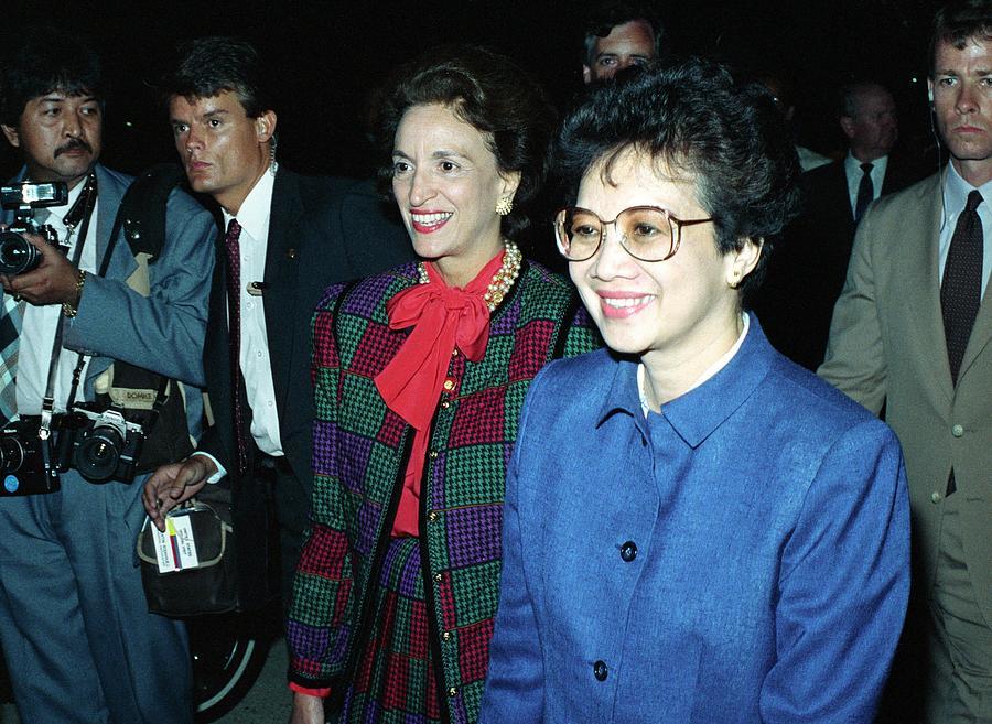 Philippine President Corazon C. Aquino Photograph