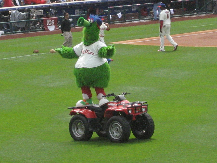 Phillie Phanatic Photograph