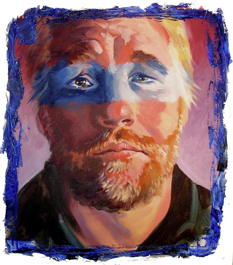 Phillip Seymour Hoffman Painting