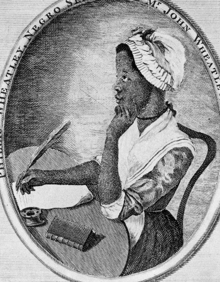 Phillis Wheatley 1753-1784, The First Photograph