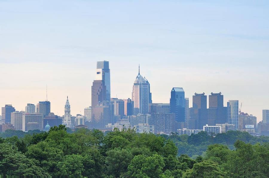 Philly Skyline Photograph
