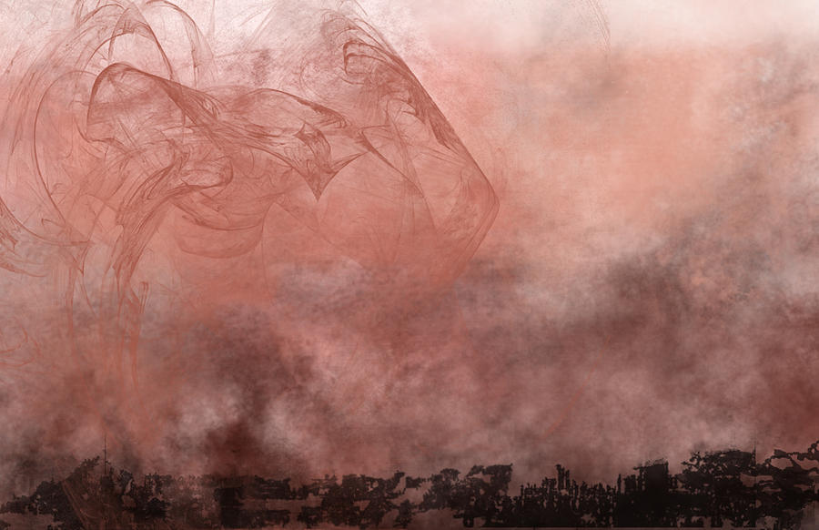 Phoenix Rising Painting