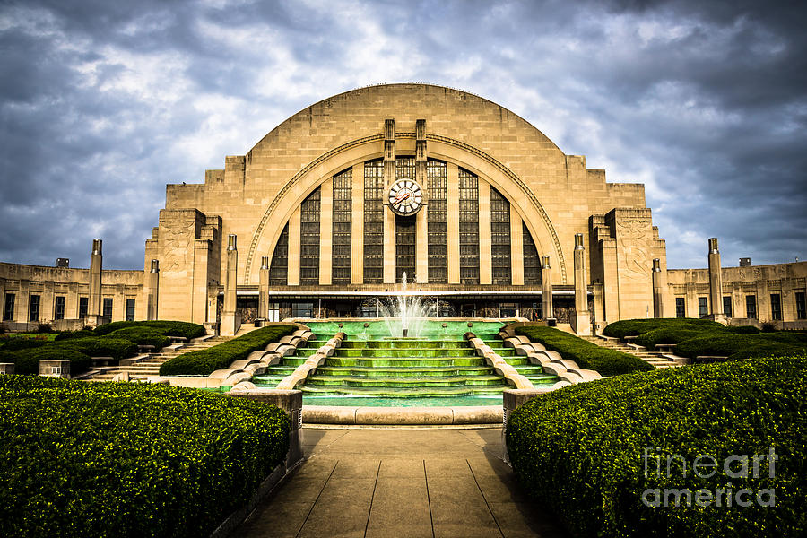 Photo Of Cincinnati Museum Center  Photograph  - Photo Of Cincinnati Museum Center  Fine Art Print