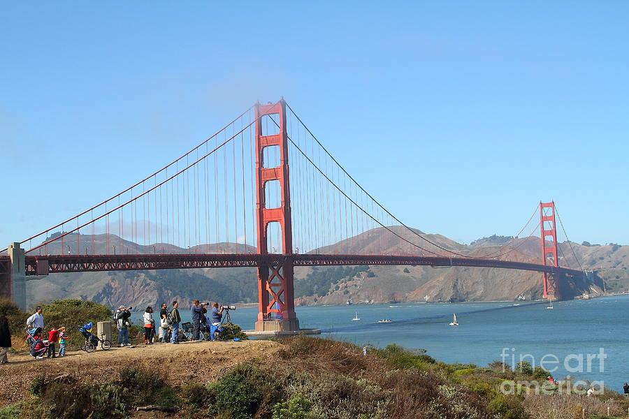 Photographing The San Francisco Golden Gate Bridge . 7d7787 Photograph