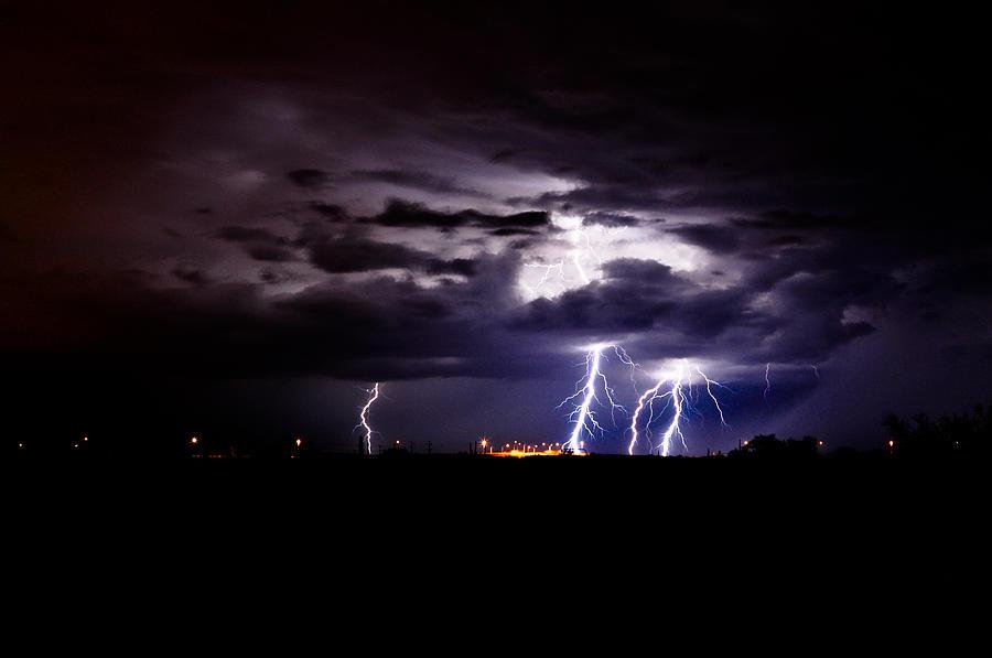 Phx Night Lightning 6 Photograph