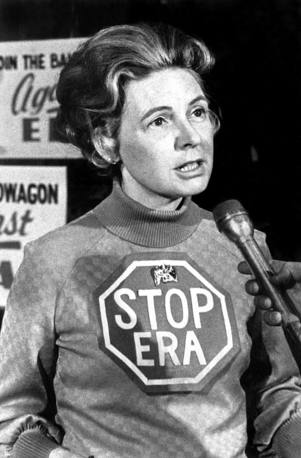 Phyllis Schlafly, Ca. 1977 Photograph