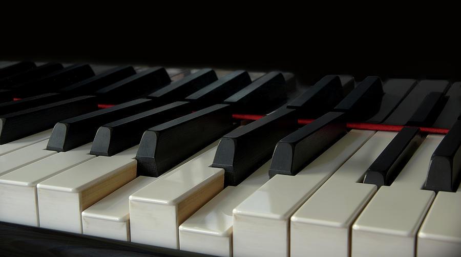 Piano Keyboard Photograph