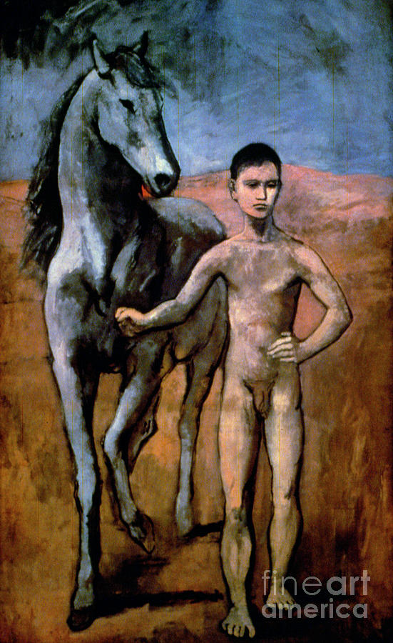 Picasso - Boy 1906 Painting