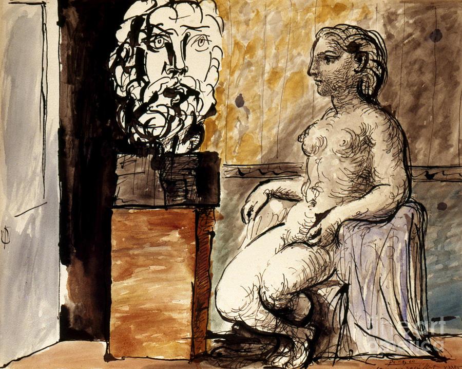 Picasso: Artist/model, 1930 Photograph