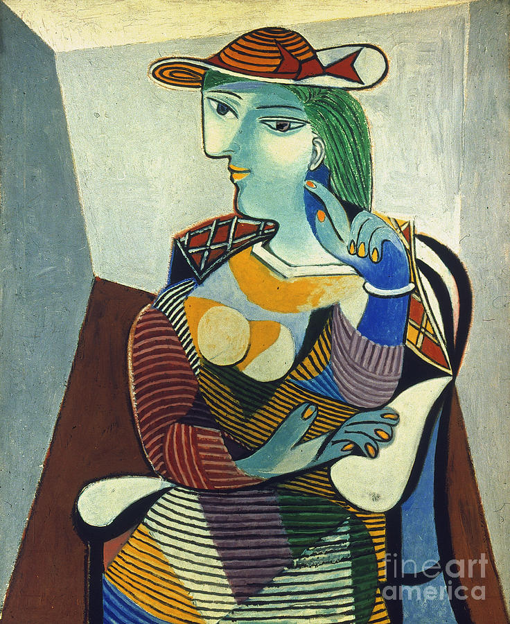 Picasso: Marie-therese Photograph