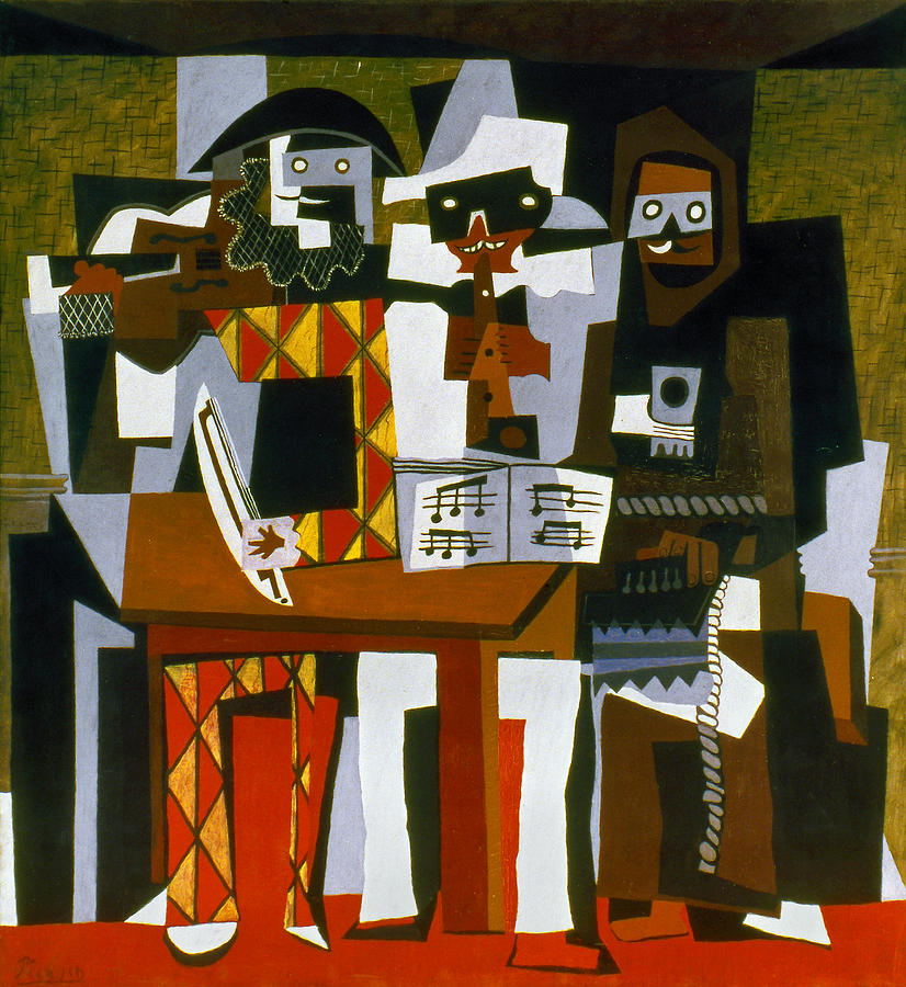 Picasso: Three Musicians Photograph