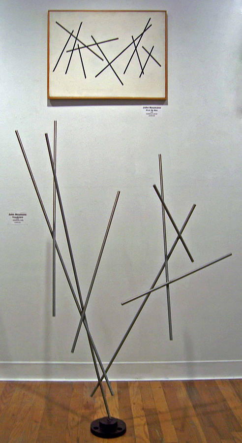 Pick Up Sticks And Thunderbird Painting