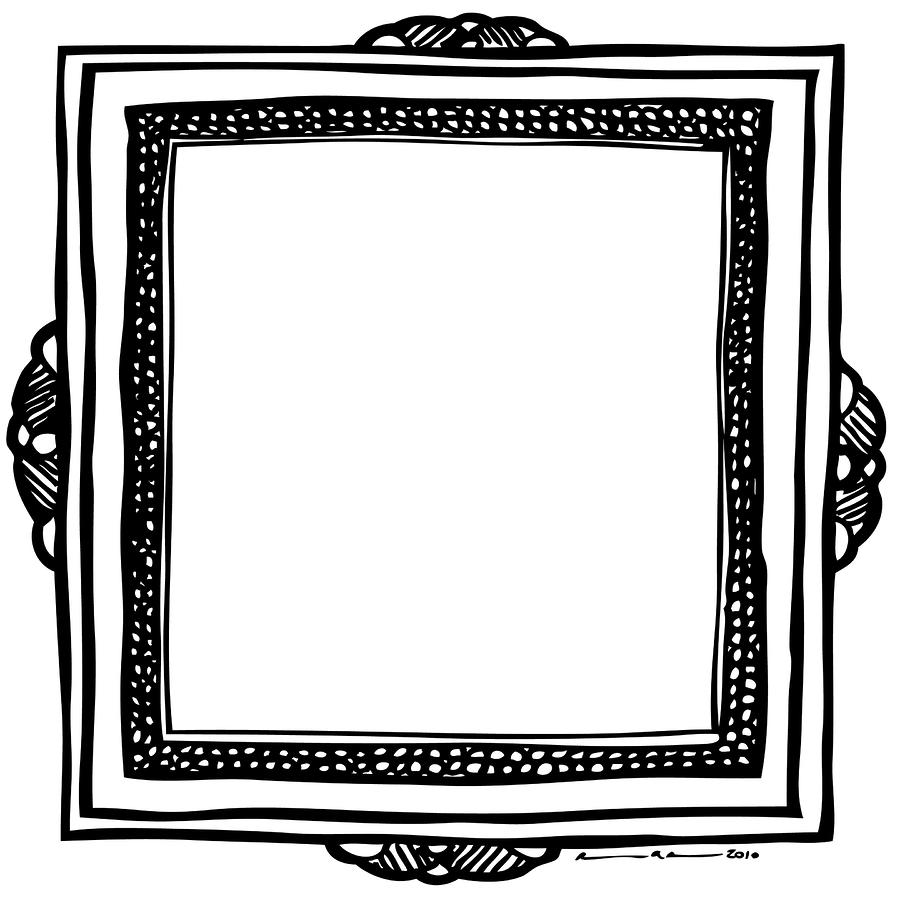 Art Frame Drawing | www.imgkid.com - The Image Kid Has It!