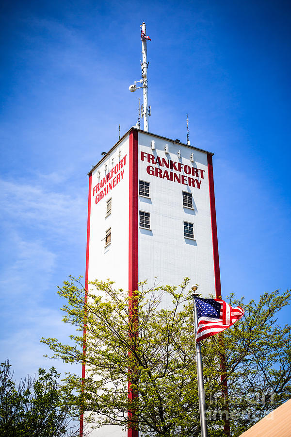 Picture Of Frankfort Grainery In Frankfort Illinois Photograph  - Picture Of Frankfort Grainery In Frankfort Illinois Fine Art Print