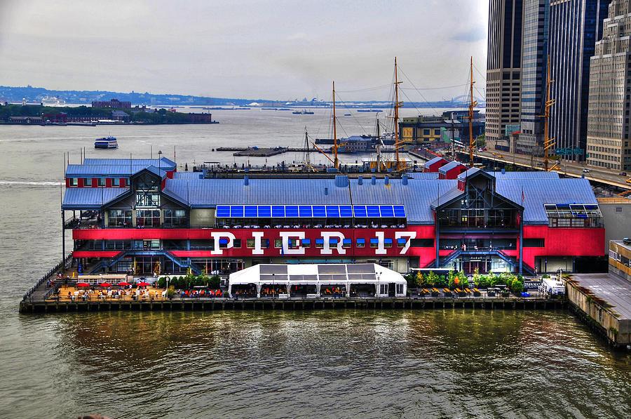Pier 17 Manhattan Photograph