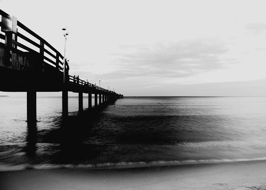 Pier Photograph - Pier by Falko Follert